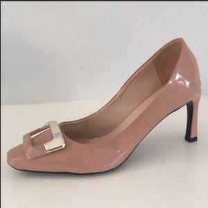 """🆕 DUNES high heels, size 37, height 3""""  Nude."""